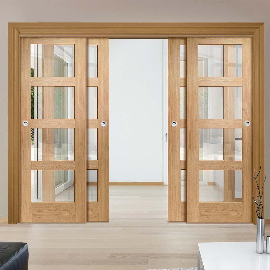Kombinasi Kusen Aluminium dan Pintu Kayu